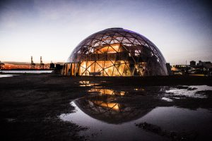 Sleepover i Domes of Visions