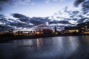 Åbningen af Dome of Visions på Pier 2 i Aarhus.